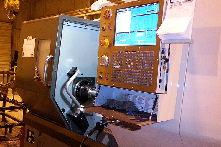 cnc machining at commercial fluid power