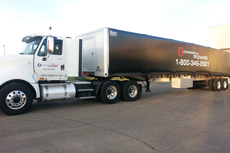 on-time delivery by commercial fluid power